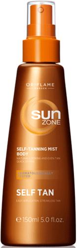 Спрей-автозагар для тела Sun Zone