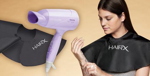 Спецпредложение каталога: Фен Philips и защитная накидка для окрашивания волос