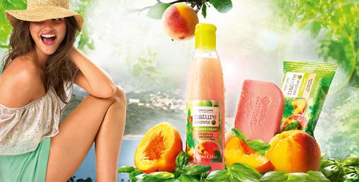Увлажняющий крем для душа и мыло с увлажняющим эффектом «Базилик и Персик»