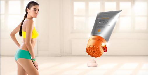 Антицеллюлитный гель с аппликатором-массажером «Боди-Перфектор»