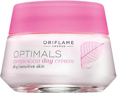 Дневной крем для сухой/чувствит кожи «Активный кислород»
