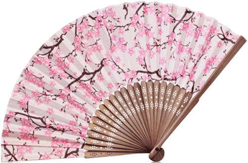 Веер «Цветущая сакура»