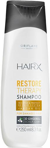 HairX Restore Therapy Shampoo Шампунь для сухих и поврежденных волос «Эксперт-Восстановление»