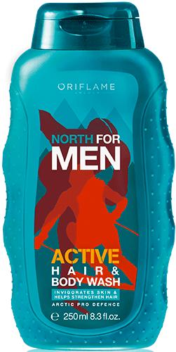 Шампунь для волос и тела «Норд Актив»