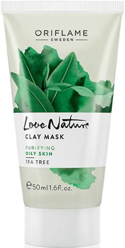 Очищающая маска с глиной «Чайное дерево»