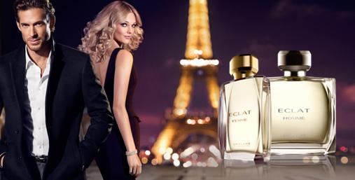 Новые парные ароматы Eclat Homme для него и Eclat Femme для нее