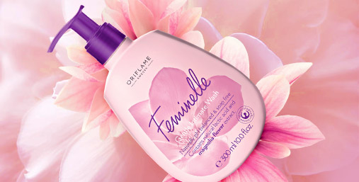 Мягкое очищающее средство для интимной гигиены «Феминэль»