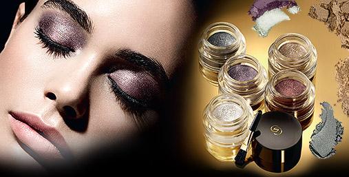 Благородный перламутр: кремовые тени для век «Жемчужная вуаль» Giordani Gold